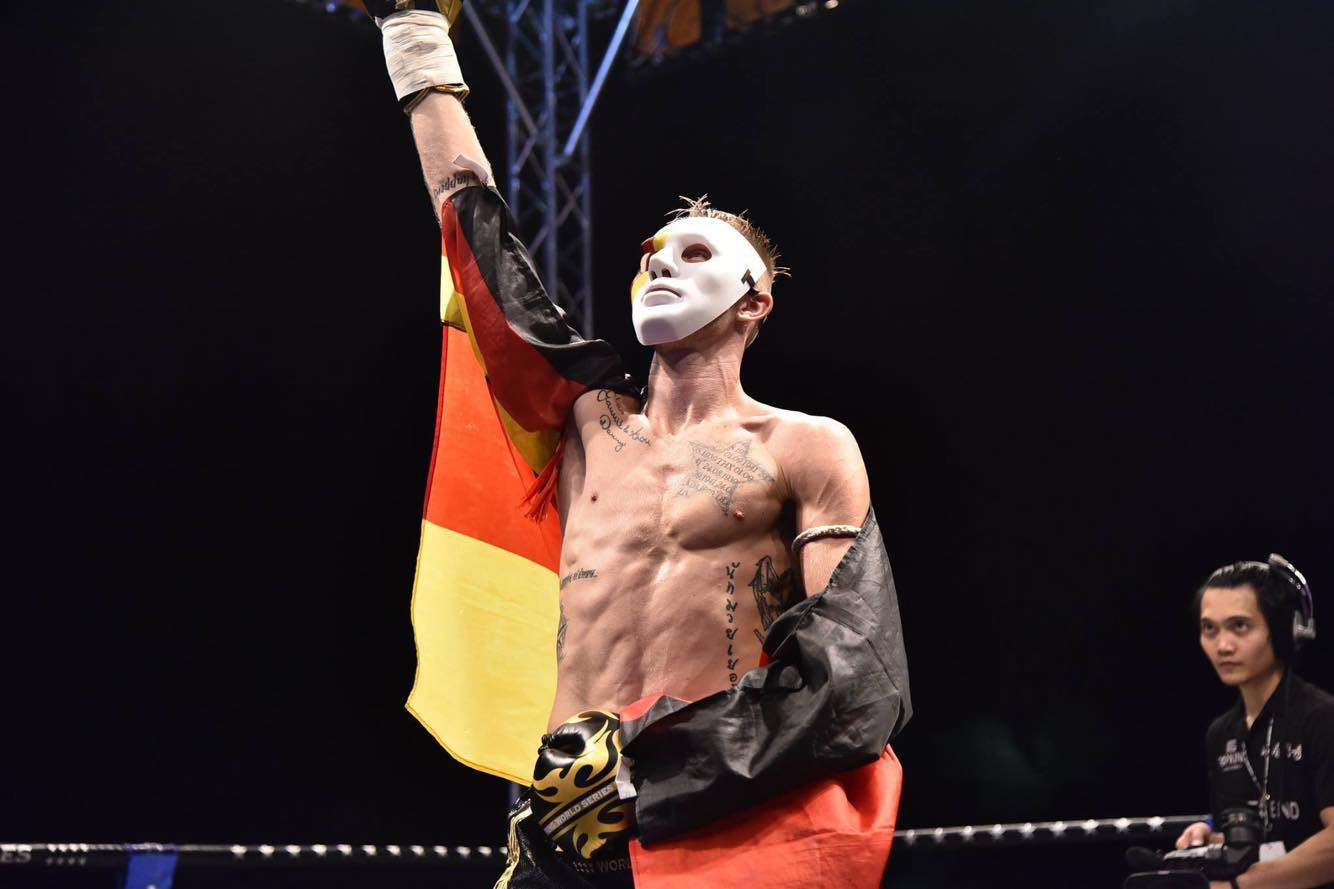Pascal Schroth aka. The German at TopKing World Series Muay Thai tournament